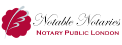 Notable Notaries, Notary Public London