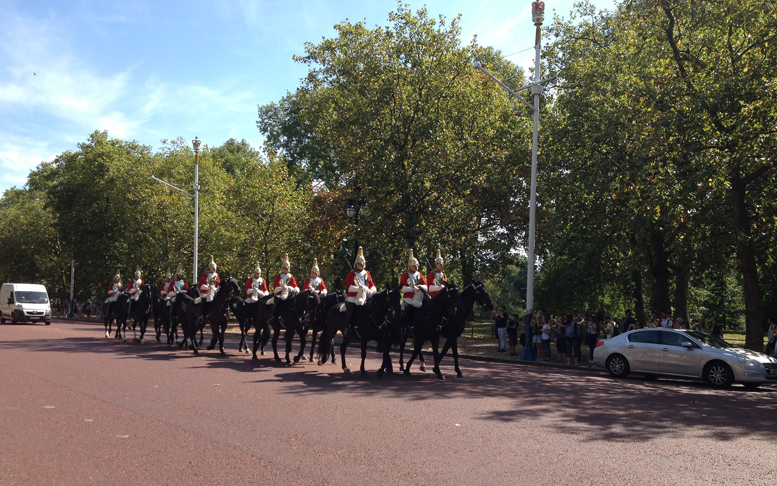 Horse Guards Parade on 22 August 2015