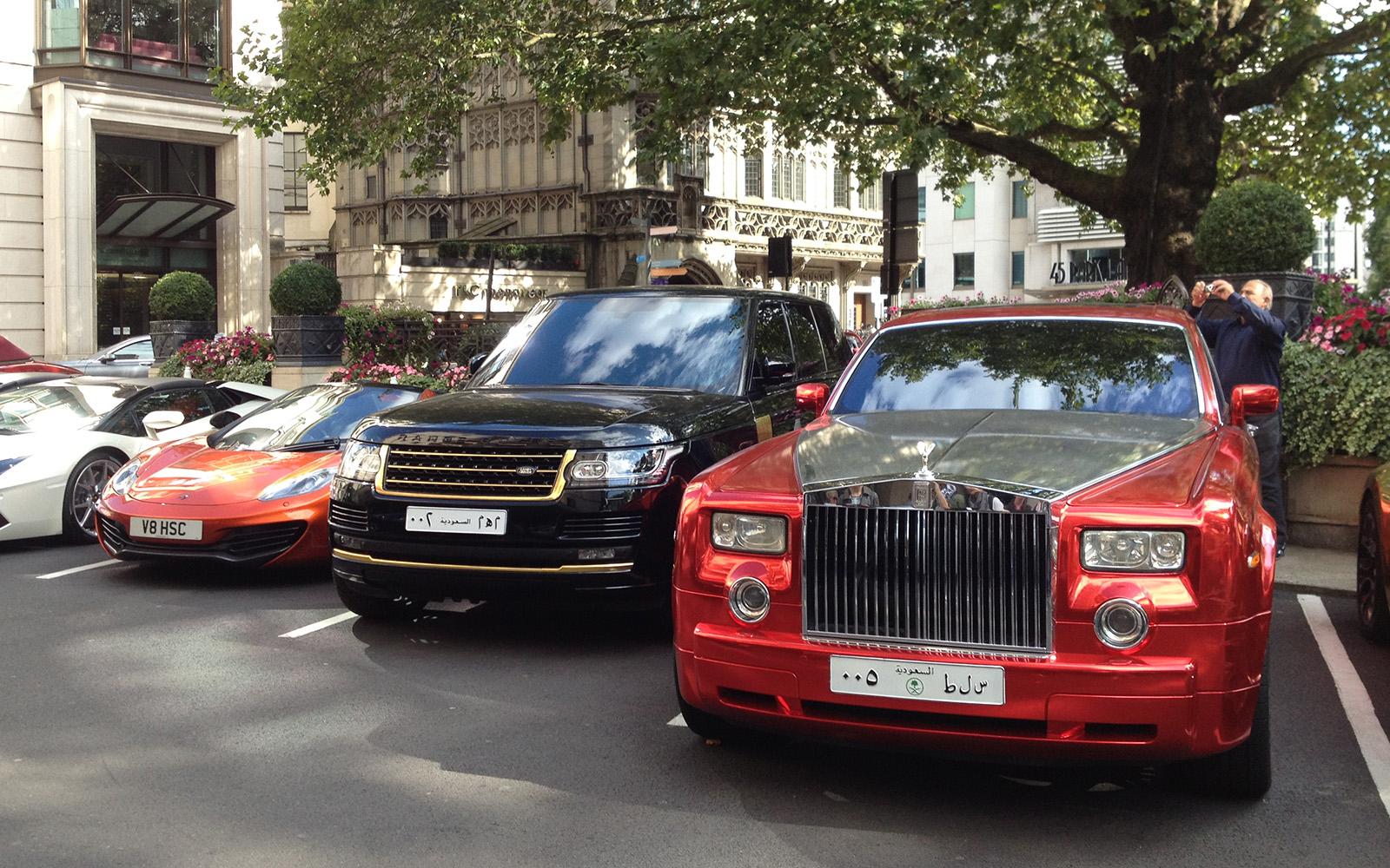 Car Park Near Buckingham Palace Road